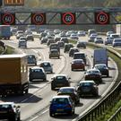 A British motorway (David Jones/PA)