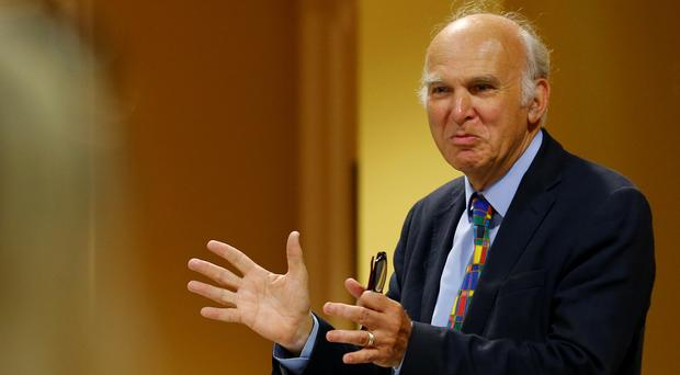 Vince Cable (Gareth Fuller/PA)