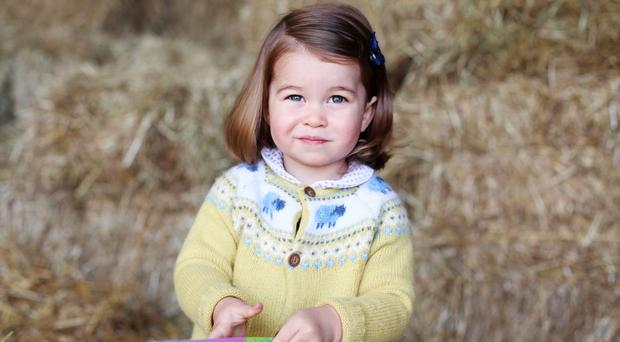 New photo of Princess Charlotte released ahead of second birthday