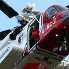 Coastguard helicopters have joined the search operation