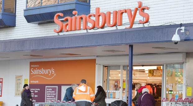 Profit falls at UK's Sainsbury's for third straight year