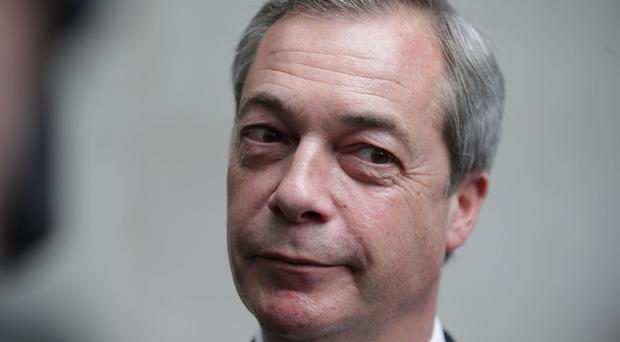 Nigel Farage claims the EU is attempting to make Brexit negotiations difficult for UK Government.