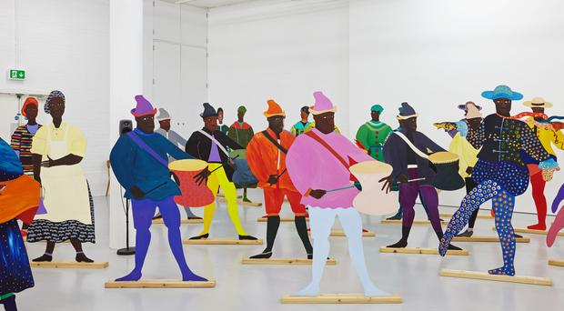 A work of art by Lubaina Himid