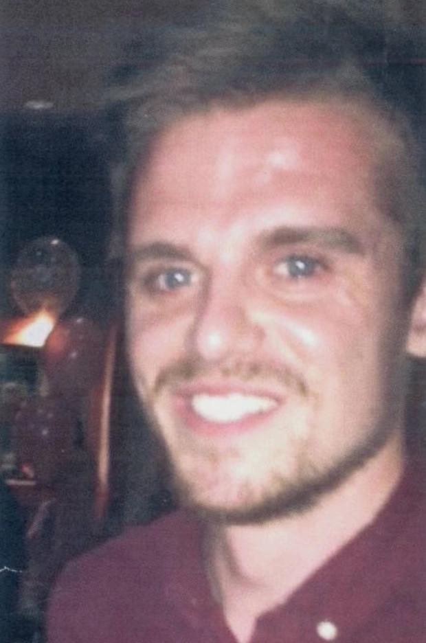 """Undated handout file photo issued by Police Scotland of surfer Matthew Bryce, who has been described as """"extremely lucky"""" after he survived more than 30 hours stranded at sea on his board."""