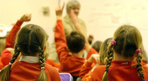 'Mr Wallace said the proposed cuts would apply even if pupil numbers and services at a school had not gone down from the previous year'