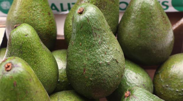 The number of injuries caused from using a knife to cut avocados has risen (Philip Toscano/PA)
