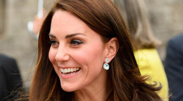 The Duchess of Cambridge arrived in Luxembourg yesterday for a visit hailed as a boost to relations between the UK and EU