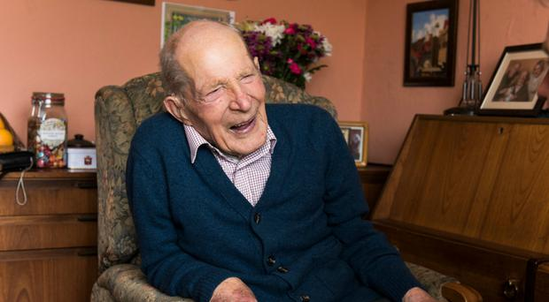 Alfred Smith, 109, who has been a member of the Church of Scotland since 1945 (Church of Scotland/PA Wire)