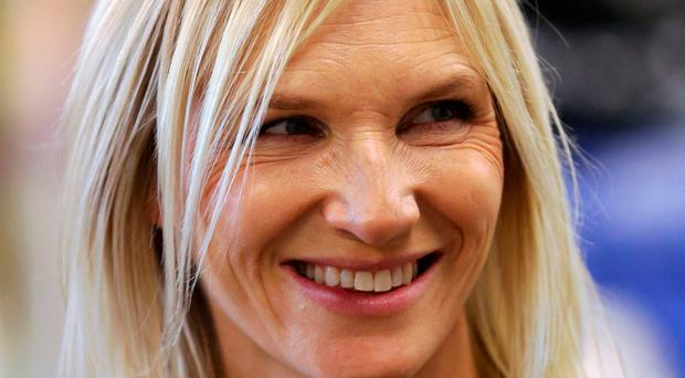 Green fingers: Jo Whiley
