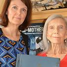 Shere Lowe, the daughter of Dambusters hero Sgt John Fraser, and his widow Doris (family handout/PA)