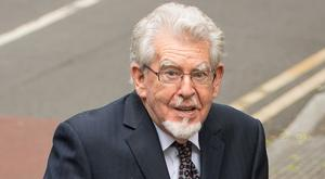 Rolf Harris, 87, arrives at Southwark Crown Court in London where he denies four counts of indecent assault relating to three teenagers who allege he molested them in the 1970s and 1980s (Dominic Lipinski/PA)