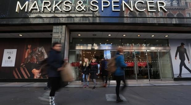 M&S profit drops, but says recovery on track in tough market