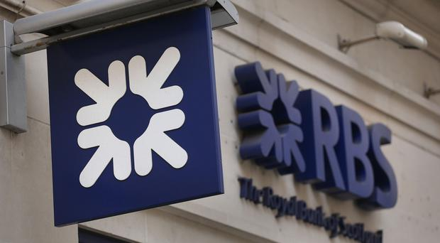 A Royal Bank of Scotland sign (Philip Toscano/PA)