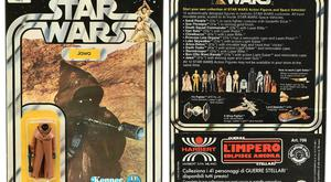 The rare Jawa figurine in its original packaging (Vectis/PA)