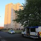 Manchester bomber Salman Abedi was thought to have stayed in the flat in Blackley, north of Manchester city centre, before his attack (Danny Lawson/PA)