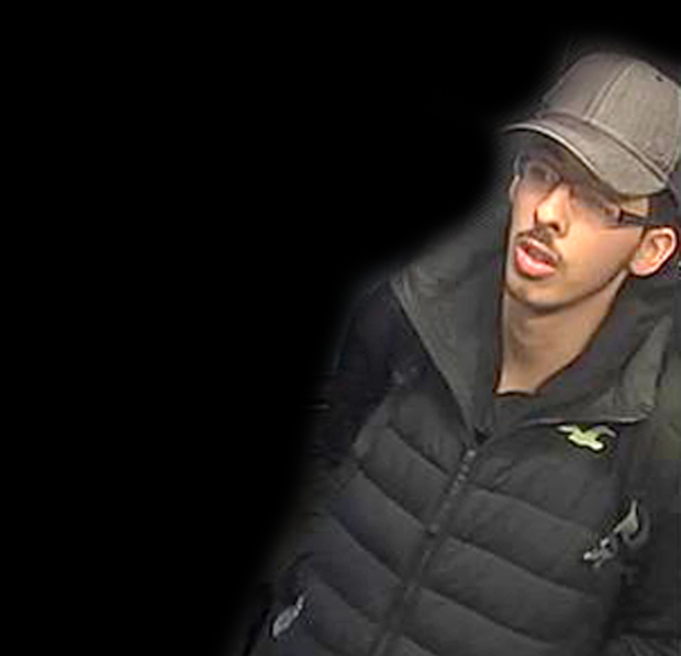 Salman Abedi on the night he carried out the Manchester Arena terror attack (Greater Manchester Police/PA)