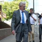 Rolf Harris outside Southwark Crown Court (Victoria Jones/PA)