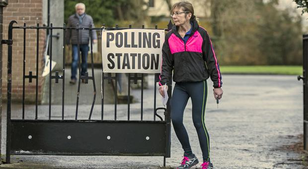 There are five days to go until the General Election (Liam McBurney/PA)