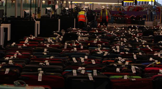Missing bags are costing travel insurance companies. ( Steve Parsons/PA)