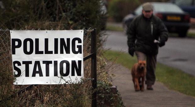 Polling day is on June 8 (PA)