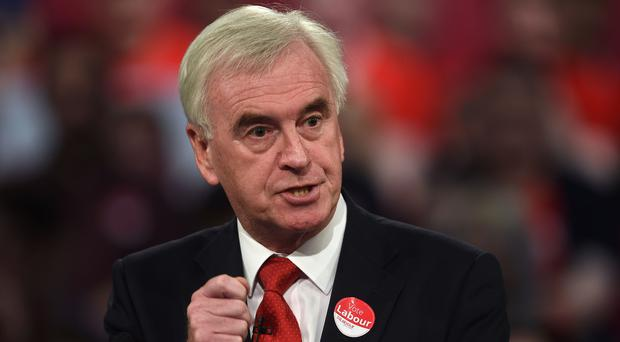 John McDonnell said the Institute for Fiscal Studies had got it wrong in its assessment of Labour's manifesto spending plans (Joe Giddens/PA)