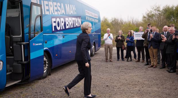 The Conservative leader visited 68 different constituencies (Stefan Rousseau/PA)