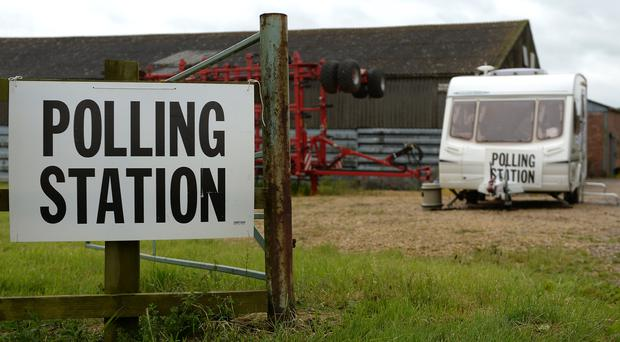 The wait is finally over as the people vote in the General Election (Joe Giddens/PA)