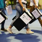 Ballot boxes arrive at the Emirates Arena in Glasgow (Andrew Milligan/PA)