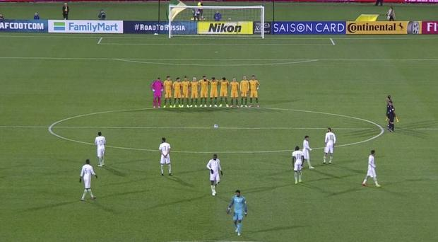 The Saudi Arabian Football Federation has apologised after its players declined to participate in a minute's silence (AP)