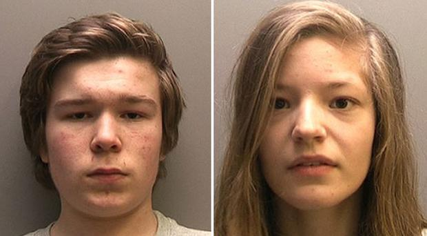 Lucas Markham and Kim Edwards are believed to be Britain's youngest double murderers (PA)