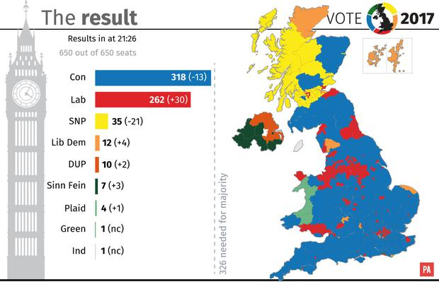 Political Map Makes Plain The Balkanisation Of Northern