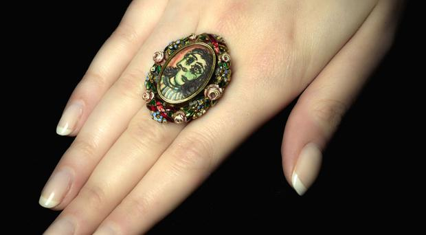 The ring designed and crafted by Pablo Picasso (Sothebys/PA)