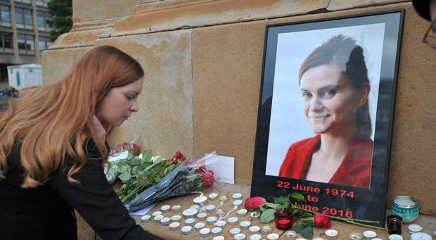Jo Cox was shot and stabbed on June 16 last year (Jane Barlow/PA)