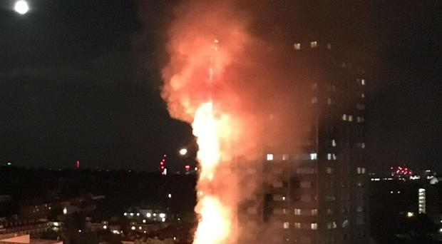 Hospitalized As Fire Rages In London Apartment Block