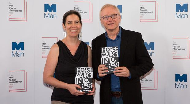 David Grossman claims Man Booker Prize for novel about tragic comedian