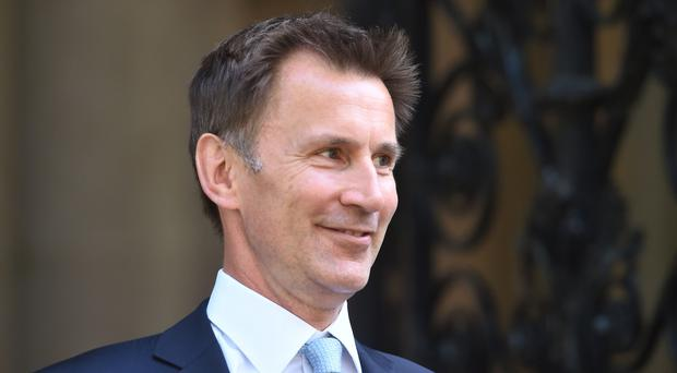Mr Hunt addressed the NHS Confederation. (David Mirzoeff/PA)