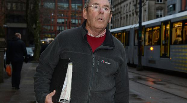 Former Television weather presenter Fred Talbot. (Peter Byrne/PA)