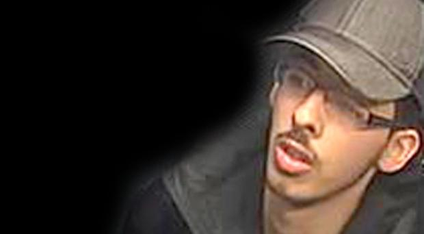 Salman Abedi on the night he carried out the Manchester Arena terror attack. in the caption (Greater Manchester Police/PA)