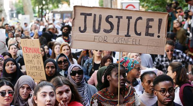 Minute's silence announced over Grenfell Tower disaster
