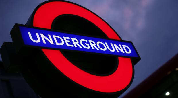 Some Tube services have been suspended. (Yui Mok/PA)