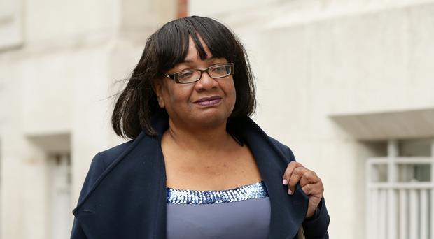 Diane Abbott was replaced in the latter stages of the campaign (Yui Mok/PA)