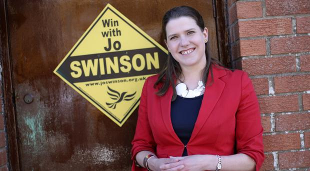 Liberal Democrat Jo Swinson is running to be the party's deputy leader (Yui Mok/PA)