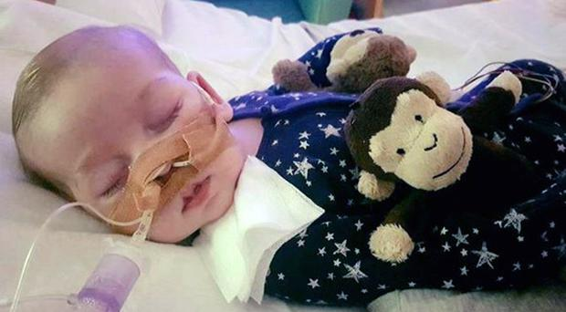 Charlie Gard. Supreme Court justices are preparing to decide whether the severely ill 10-month-old boy at the centre of a life-support treatment battle should be allowed to travel abroad for a therapy trial