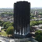 Grenfell Tower in west London after last week's deadly fire (David Mirzoeff/PA)