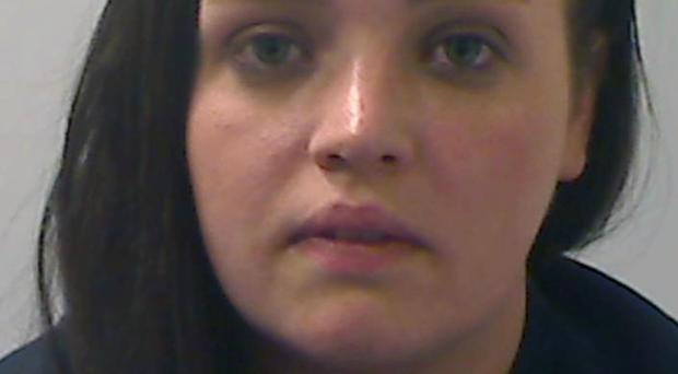 Christine Connor has been sentenced to 16 years for terror offences (PSNI/PA)