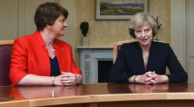 United Kingdom government confident of deal with N. Ireland's DUP