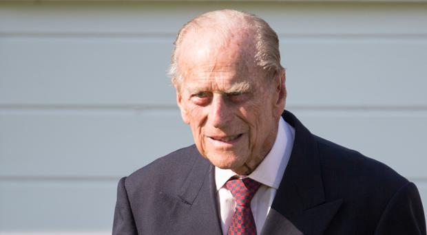 The Duke of Edinburgh was admitted to hospital last night (Steve Parsons/PA)