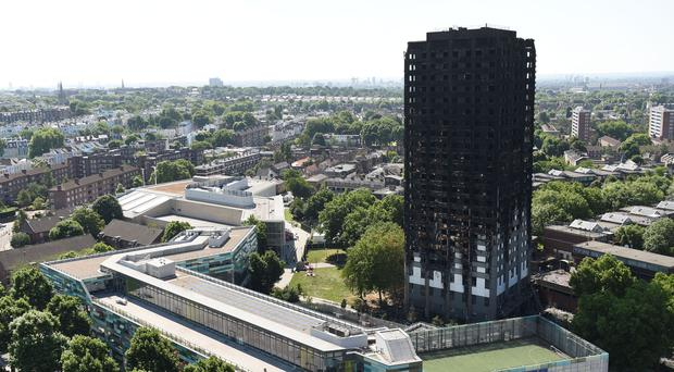 Grenfell Tower fire survivors will be rehoused development where prices start at more than £1.5 million (David Mirzoeff/PA)