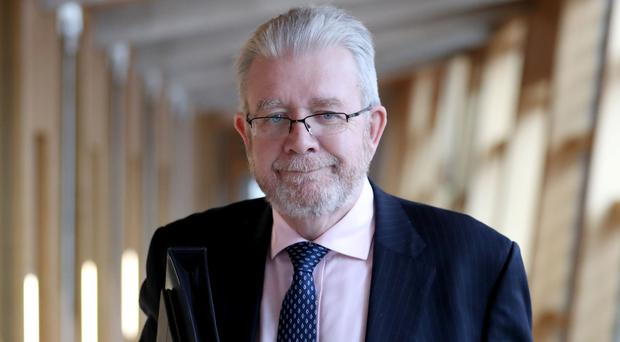 Scotland's Brexit Minister Mike Russell (Jane Barlow/PA)
