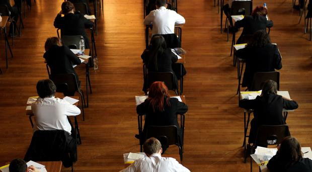 It has been reported that an alleged leak from a business studies A-level paper is being investigated by CCEA, the body that sets exams in Northern Ireland. (David Davies/PA)